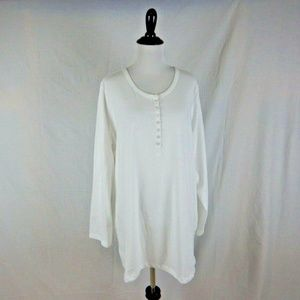 Woman Within White Tee Shirt Size 18 / 20
